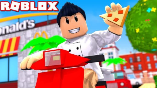 I GOT TO WORK AT A PIZZA PLACE IN ROBLOX AND IM LIT :)