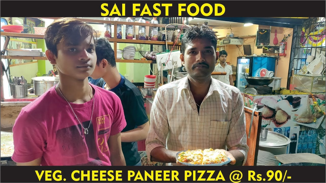 INDIAN STREET PIZZA || VEG  PANEER CHEESE PIZZA || @ Rs. 90/-