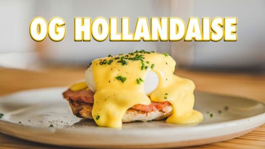 Making Hollandaise Without Any Fancy Tools