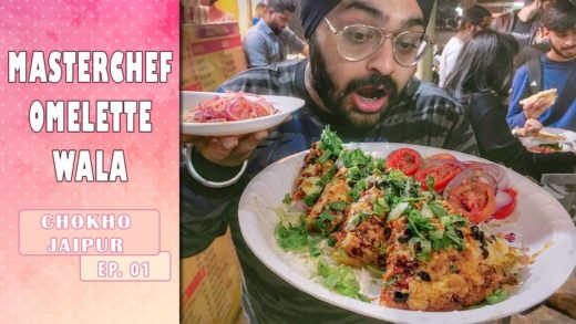 Masterchef Omelette Wala | Most famous omelette shop in India ??