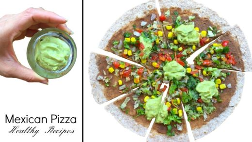 Mexican Pizza Recipe | Vegan Mexican Pizza | How To Make Mexican Pizza