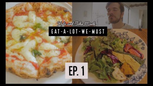 Michelin Rated Pizza in Sendai, Japan! | Eat-a-lot-we-must, episode 1.