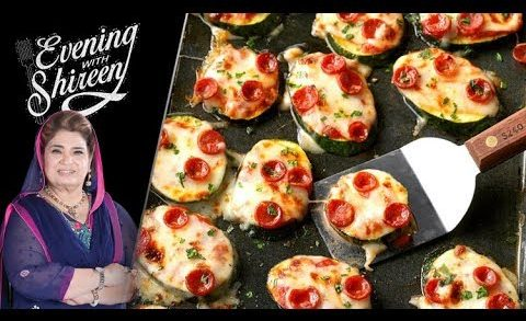 Mini Pizzas Recipe by Chef Shireen Anwar 29 November 2018