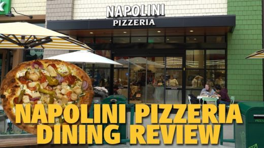 Napolini Pizzeria Dining Review | Downtown Disney