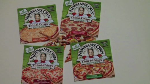 Newman's Own Pizza Ad