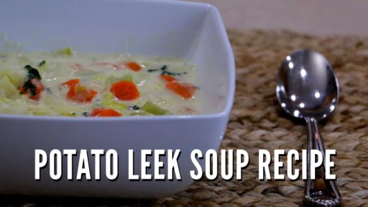 Our Amazing Potato Leek Soup Recipe - Cooking From Scratch With Printable PDF - Homemade Friday