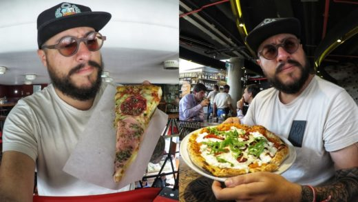 PIZZA DE 3 SOLES VS PIZZA DE 49 SOLES | elcholomena