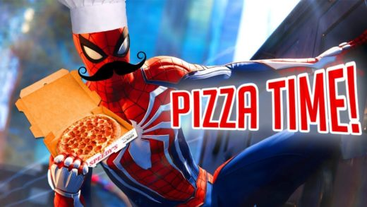PIZZA TIME! | Spider-Man Funny Moments