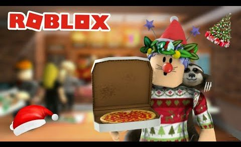 PIZZAS DE NEVE? - Roblox (Work at a Pizza Place)