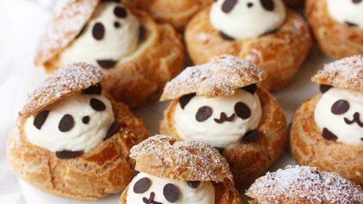 Panda puffs  Would you eat these? Double tap & tag your friends!  From                                ...