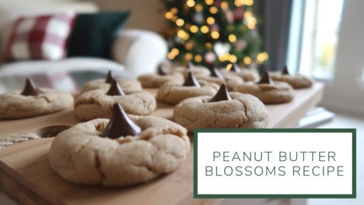 Peanut Butter Blossoms Recipe | Christmas Cookie Week Day 1