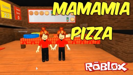ROBLOX  - MAMAMIA MA QUE PIZZA BELA (Work at a Pizza Place)