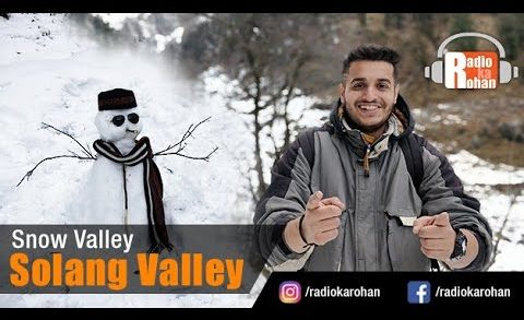 Snow Valley in INDIA    Must Visit