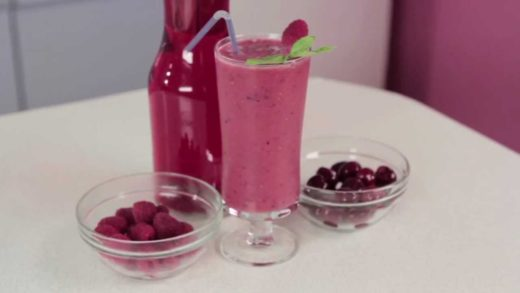 Sour Cherry - Delicious & Healthy Fruit Smoothie Recipe - BlendedRecipes.com