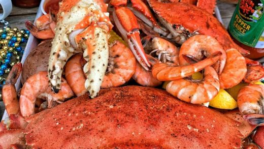Special CRAB & SHRIMP BOIL at  starting TOMORROW Dec. 7-9  w/ King, Dungeness, Soft Shell & Blue Crab! This Lafayette, Louisiana Cajun-style restaurant is kicking up their Snow Crab & Shrimp Boil this weekend by adding all the extra crab!  They also have P...
