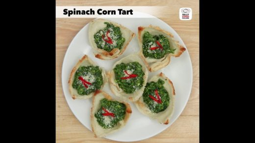 Spinach Corn Tart