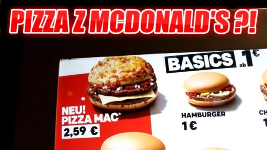 TEST PIZZA Z MCDONALD'S - JAK SMAKUJE PIZZA MAC?