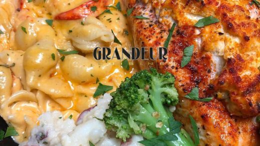 Thank you to everyone that purchased a plate today . Jumbo Lump Crab Stuffed Salmon x Lobster Mac and Cheese x Broccoli n Garlic Mash. Not gonna lie , I missed the adrenaline rush of plates sales , it's been a min ... stay tuned, I'll try to Squeeze in 1 m...