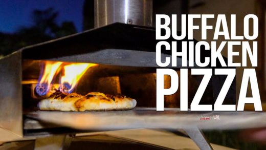 The Best Buffalo Chicken Pizza | SAM THE COOKING GUY 4K