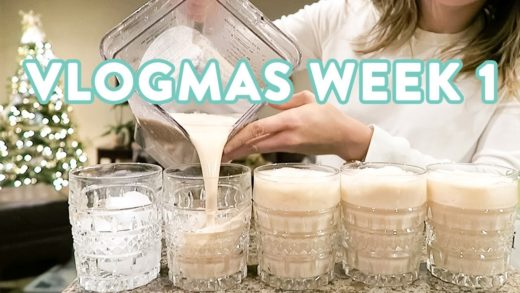 The Best Healthy EggNog and Christmas Cookies | VLOGMAS