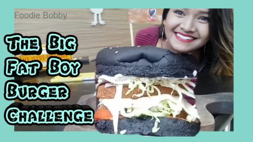 The Big Fat Boy Burger Challenge || Eating Challenge || Warning: Messy⚠