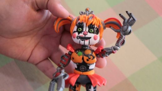 [UNBOXING] Scrap Baby FNaF Pizza Simulator Funko