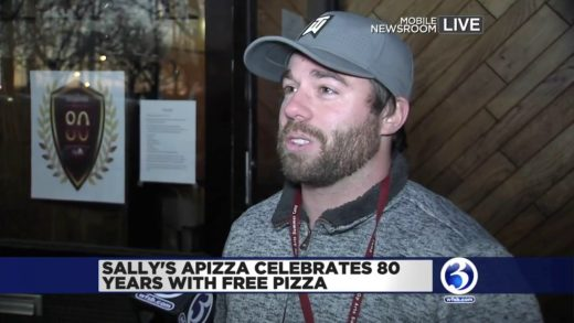 Video: Sally's Apizza is celebrating 80 years with free pizza