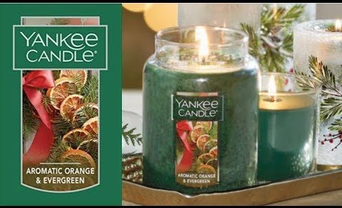 Yankee Candle Review | Aromatic Orange & Evergreen