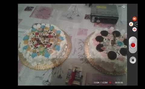 mi tarta y de mi hermana, invito a todo youtube