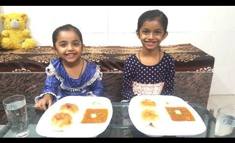 pav bhaji eating challenge | Kids fun