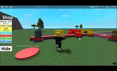 pizza factory tycoon Roblox parte 1