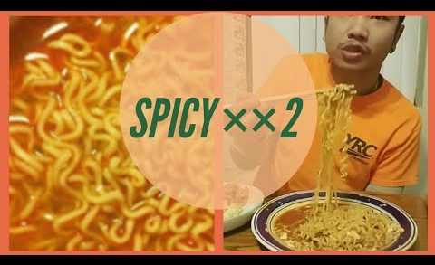 spicy noodles challenge Laos edition. eating show