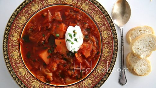 Բորշ - Borscht Soup Recipe - Heghineh Cooking Show in Armenian