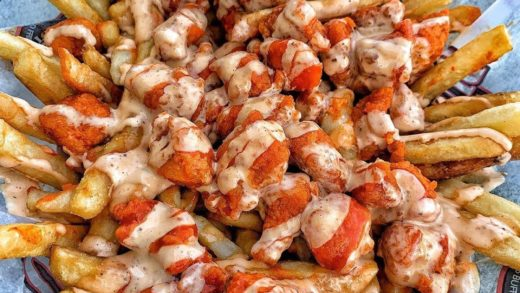 BUFFALO CHICKEN FRIES  Hand-breaded chicken breasts, tossed in Original Hot sauce  :   Follow    Follow   Follow     Like 10 Posts  Double Tap If You'd Eat This  Turn On Post Notifications To See New Content ASAP   All rights and credits reserved to the re...