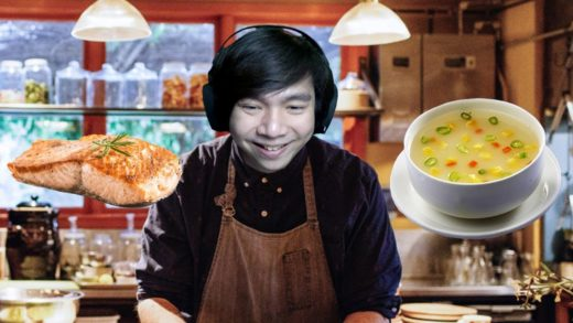 Bikin Salmon dan Soup - Cooking Simulator Indonesia