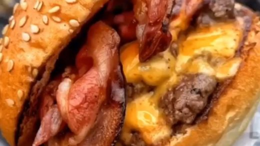 Double Cheeseburger  Follow:  ® Takip:     Double Tap If You Like This  Turn On Post Notifications  Tag Your Friends    By:   All rights reserved to the respective owners....