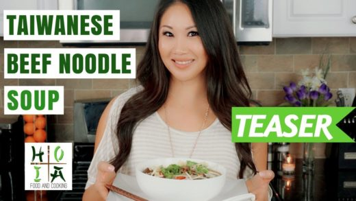 HOIA TEASER: HEALTHY ORGANIC Taiwanese Beef Noodle Soup | Diane Yang Kirk