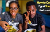 FOODporn.pl How to Cook Egusi and Vegetable Soup   Food Under 1k