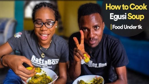 How to Cook Egusi and Vegetable Soup | Food Under 1k
