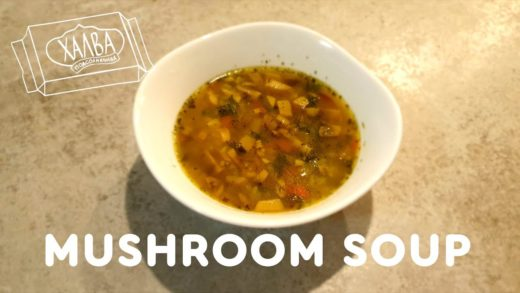 Mushroom Soup Recipe (for Vegans) | #vegansurvive