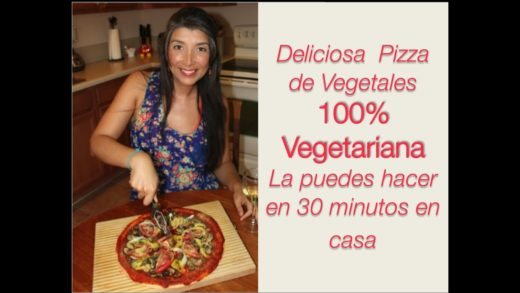 Pizza 100% Vegetariana