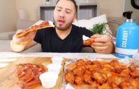 FOODporn.pl Pizza & Dominos Wings MUKBANG