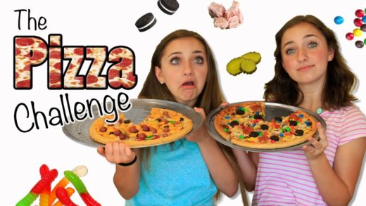 The Pizza Challenge | Brooklyn and Bailey