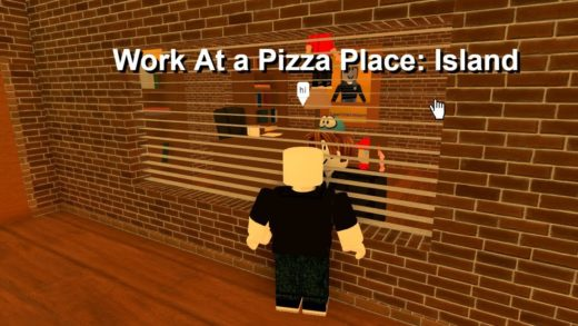 Work At a Pizza Place: Secret Island