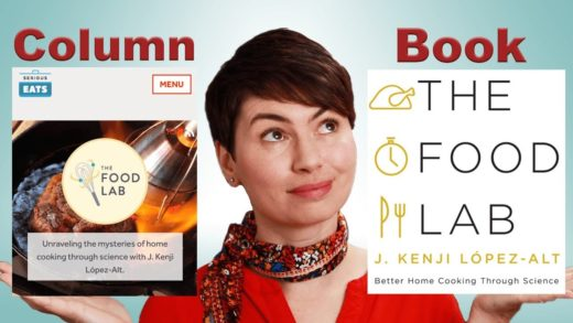 The Food Lab by Kenji López-Alt: Column vs. Book