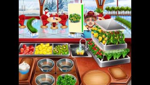 Cooking Fest - Cooking Games - Salad Restaurant Game Play