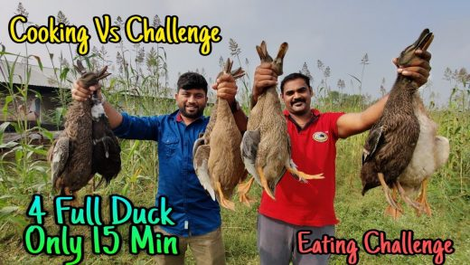 4 Full Duck Curry EATING CHALLENGE | Cooking Vs Challenge | World Food Tube | Eating Challenge Boys