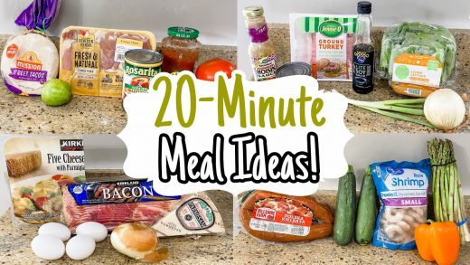 5 Speedy 20-Minute Meals | Quick & Simple Tasty Dinner Recipes | Julia Pacheco