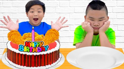 Alex Surprises Lyndon with a Birthday Cake for His Surprise Happy Birthday Party