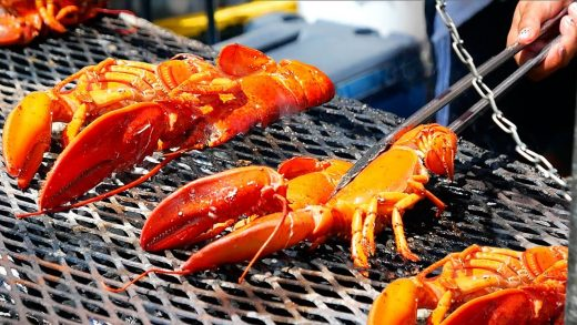 American Street Food - BUTTER GRILLED LOBSTERS Smorgasburg Seafood New York City